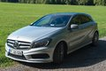 Mercedes Benz A-Class test drive Stock Photography