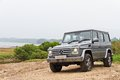 Mercedes benz g class the high off road car Stock Image