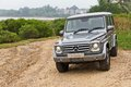 Mercedes benz g class the high off road car Stock Images