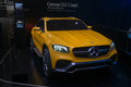 Mercedes benz glc coupe concept world premiere frankfurt international motor show iaa Stock Photography
