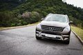 Mercedes benz ml class ml suv big size top performance in off road Stock Photography