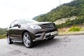 Mercedes benz ml class ml suv big size top performance in off road Stock Image