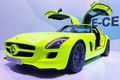 Mercedes-Benz SLS AMG E-CELL Royalty Free Stock Photos