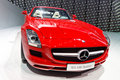 Mercedes-Benz SLS AMG Roadster Royalty Free Stock Photography