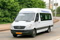 Mercedes benz sprinter cdi Royaltyfria Bilder