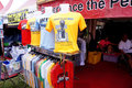 Mercedes merchandise sold in a jamboree in the city of solo central java indonesia Stock Images
