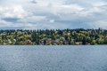 Mercer Island Residences Royalty Free Stock Photo