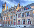 Merchants' Houses Bruges / Brugge, Belgium Royalty Free Stock Photo