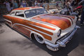 Mercury Custom Lowrider Royalty Free Stock Photo