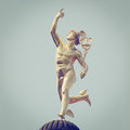 Mercury Statue Royalty Free Stock Photo