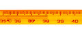 Mercury thermometer with temperatures exceeding degrees celsius Royalty Free Stock Photos
