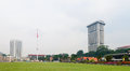 Merdeka square independence square in kuala lumpur malaysia Stock Image