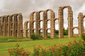 Merida Aqueduct Stock Photography