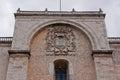 Merida Cathedral detail Royalty Free Stock Photo