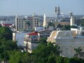 Merida high angle view of in yucatan mexico Stock Image