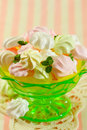 Meringue cookies Royalty Free Stock Image
