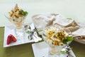 Meringue Dessert Royalty Free Stock Photo