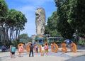 Merlion in Sentosa island Singapore Royalty Free Stock Photo