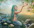 Mermaid Ariel Royalty Free Stock Image