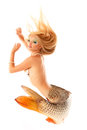 Mermaid beautiful magic mythology being original photo compilati Royalty Free Stock Images
