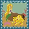 Mermaid girl Royalty Free Stock Photo