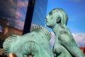 Mermaid statue in Copenhagen, Denmark Royalty Free Stock Photo