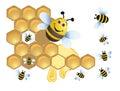 Merry bee Stock Photos