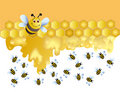 Merry bee Royalty Free Stock Photography