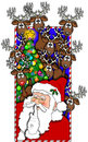 Merry_christmas_01.jpg Stock Image