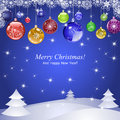Merry christmas 2 Royalty Free Stock Photography