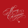 Merry christmas background with decorative text Stock Photos