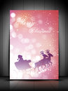 Merry Christmas background. EPS 10. Royalty Free Stock Image