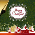 Merry christmas background raster version of illustration Royalty Free Stock Photos