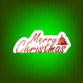 Merry christmas background with space for your text Stock Photography