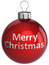 Merry Christmas ball (Hi-Res) Stock Photos