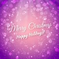 Merry christmas blurred festive vector background greeting card this is file of eps format Royalty Free Stock Photo