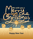 Merry Christmas bring firework New Year