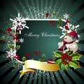 Merry Christmas card2 Royalty Free Stock Photo