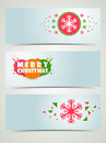 Merry Christmas celebration banner or web header. Royalty Free Stock Photo