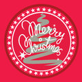 Merry christmas design element Stock Images