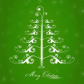 Merry Christmas drawing Royalty Free Stock Photography