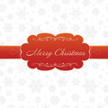 Merry christmas greeting card on white background Stock Photo
