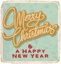 MERRY CHRISTMAS Vintage Card (...