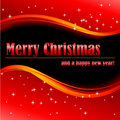 Merry Christmas and a happy new year! Royalty Free Stock Photo