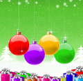 Merry Christmas & Happy New Year 2009 Background Royalty Free Stock Images