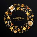 Merry Christmas and Happy New Year background Royalty Free Stock Photo