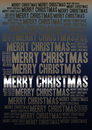 Merry christmas holiday background word cloud Royalty Free Stock Image