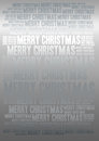 Merry christmas holiday background word cloud Stock Photos