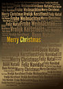 Merry christmas holiday background words tags for your projects cards postcards posters invitations letters etc Royalty Free Stock Photography