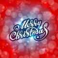 Merry Christmas. Holidays Card...